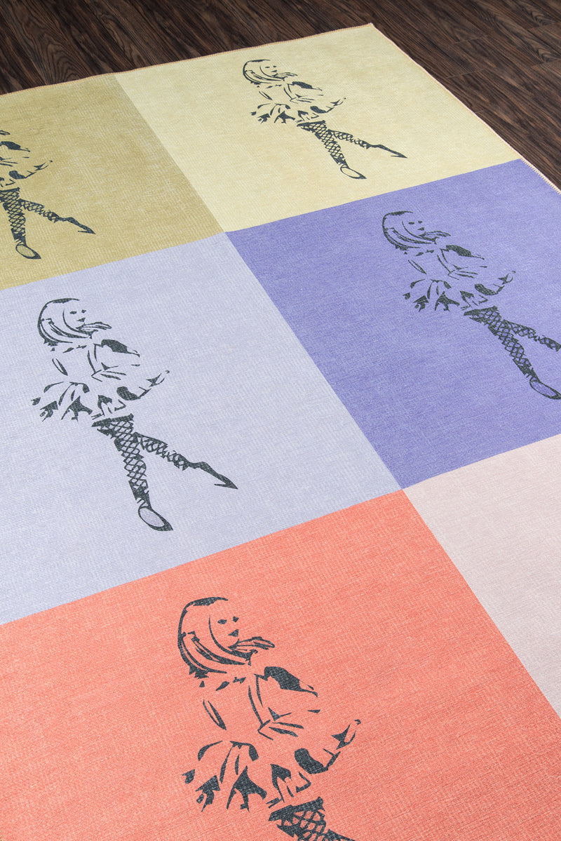Dancing Girls Rug - Multi