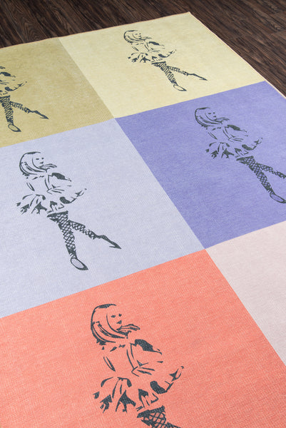 Dancing Girls Multi Rug