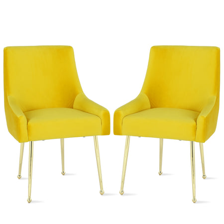 Louise Mid-Century Molded Chair (Set of 2)
