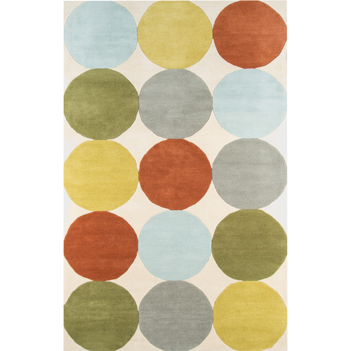 Agatha Dots Earth Rug