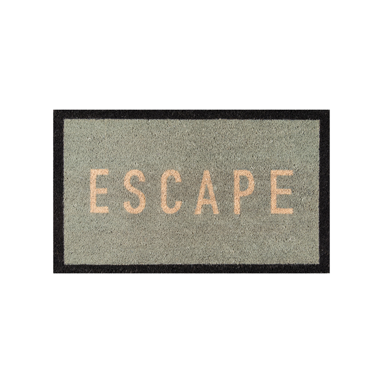 Escape Doormat - Blue