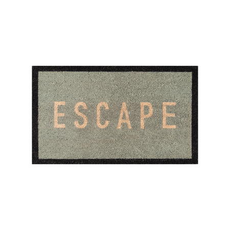 Welcome Multi-Colored Doormat