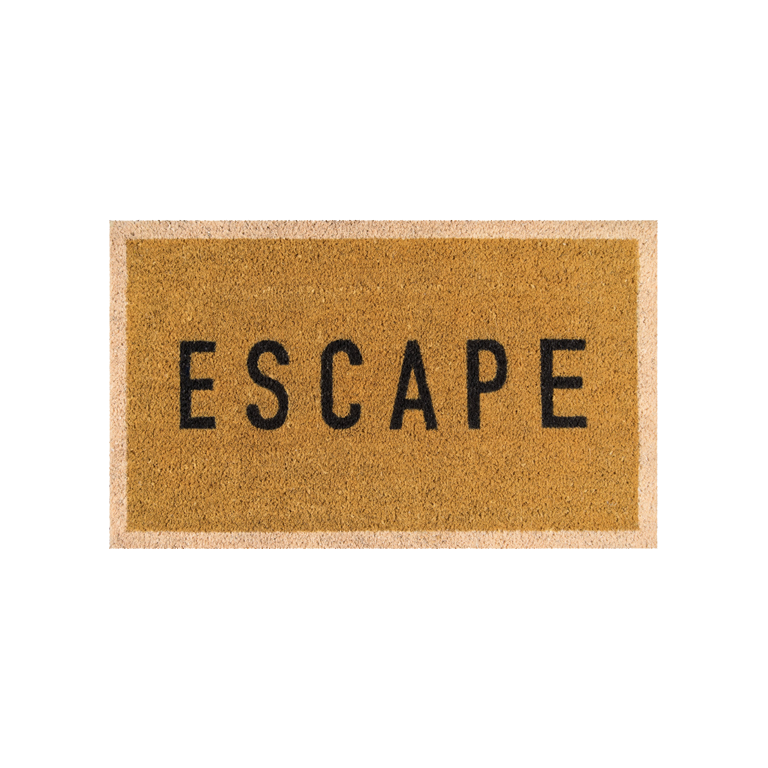 Escape Doormat - Gold