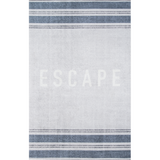 Escape Rug Blue