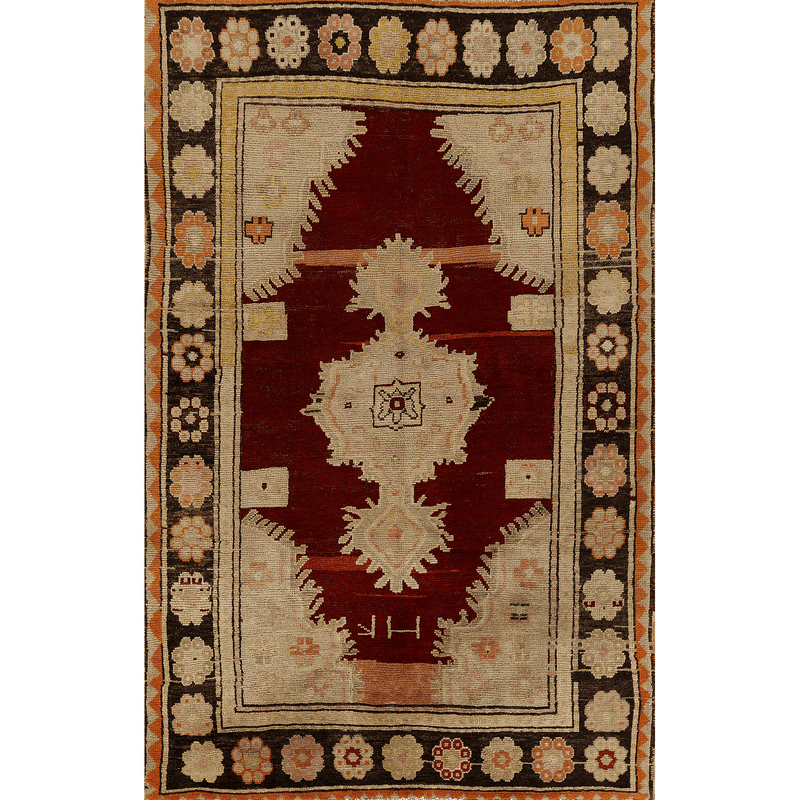"One of a Kind, 100% Wool Rug: 5'2"" x 8'2"""