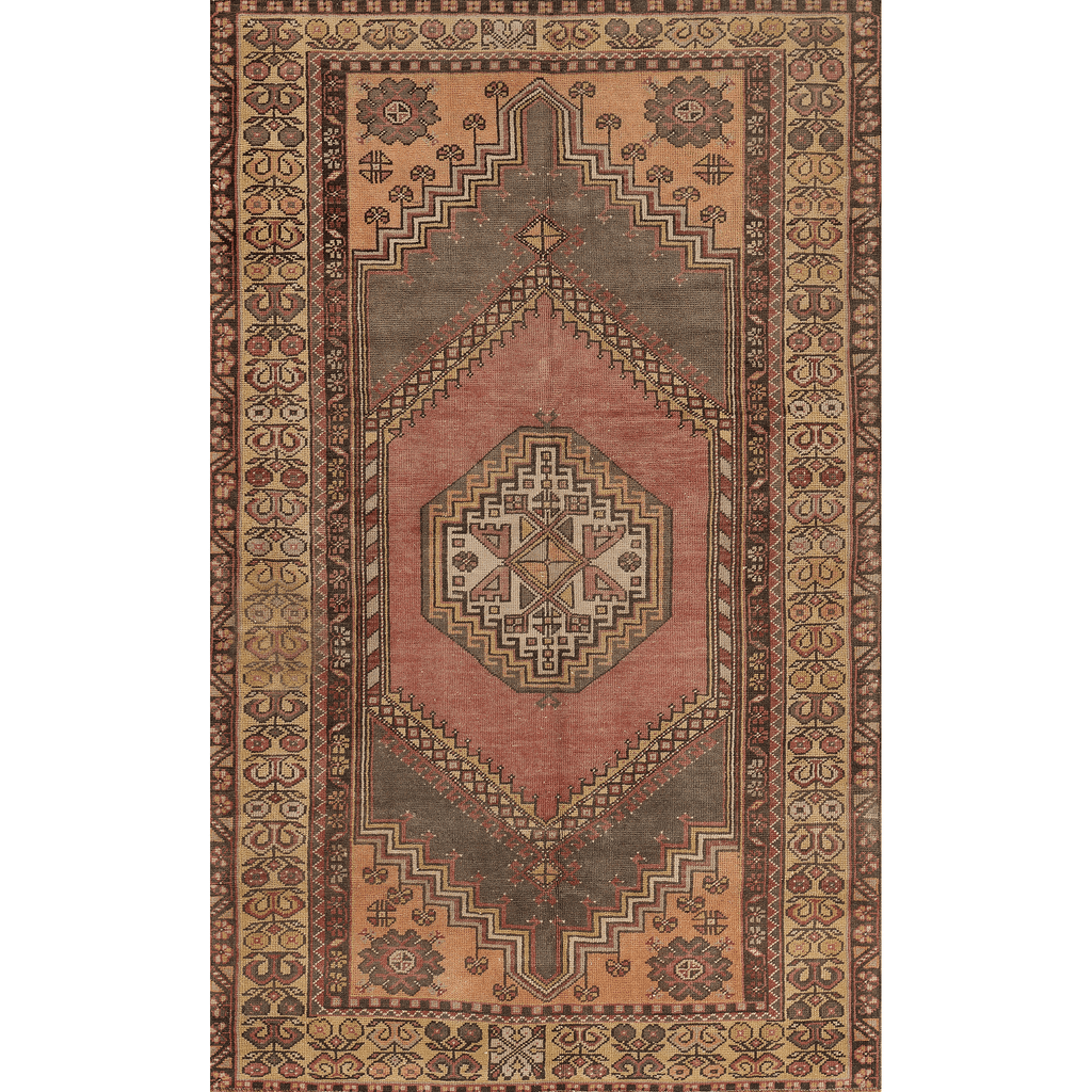 "One of a Kind, 100% Wool Rug: 3'10"" x 6'2"""