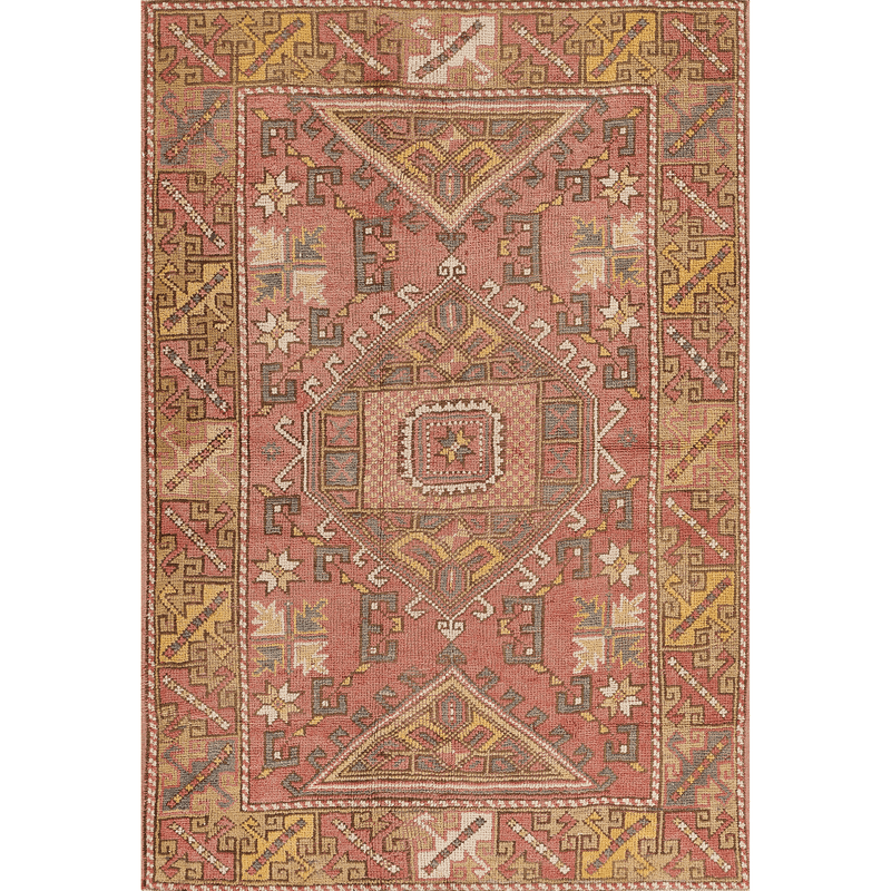 "One of a Kind, 100% Wool Rug: 4'1"" x 5'11"""
