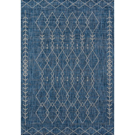 Vintage Fruit Blue Rug