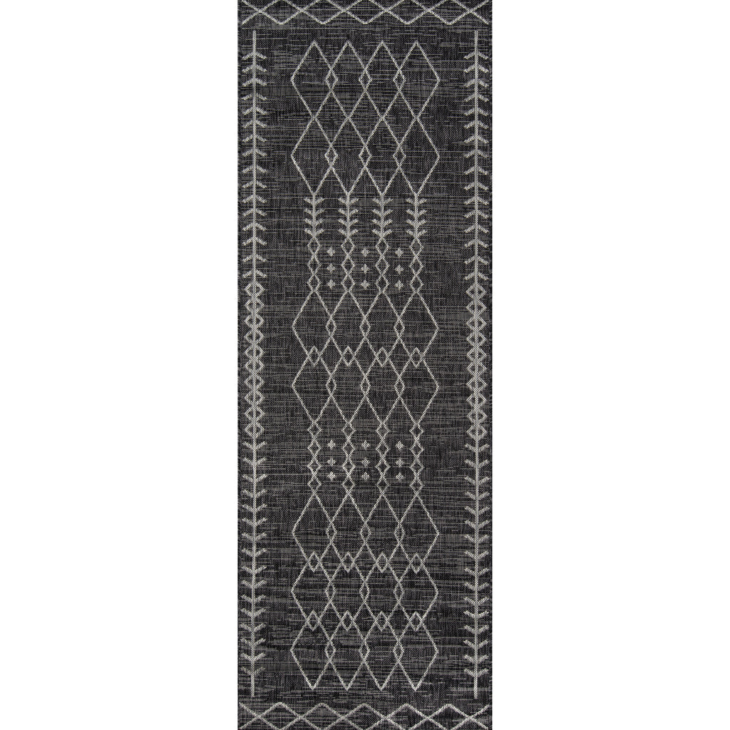 Monaco Indoor/Outdoor Rug - Charcoal