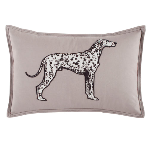Major Grey Throw Pillow