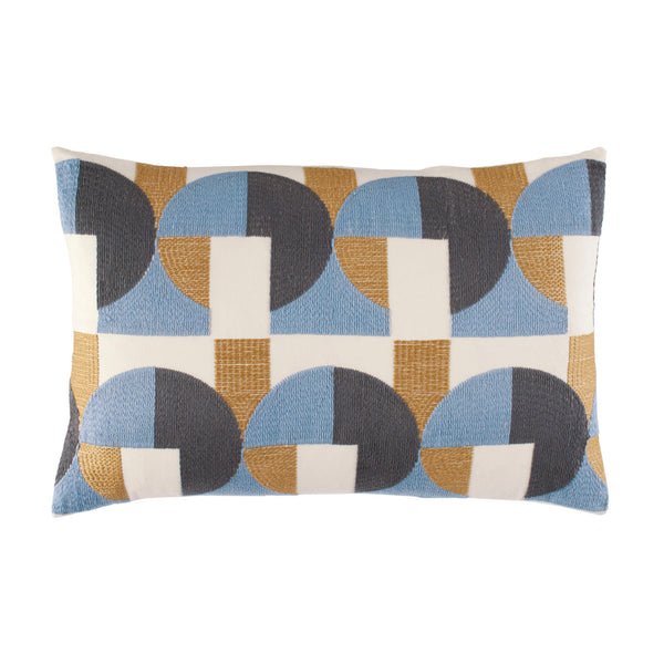 Skye Geo Mustard Throw Pillow