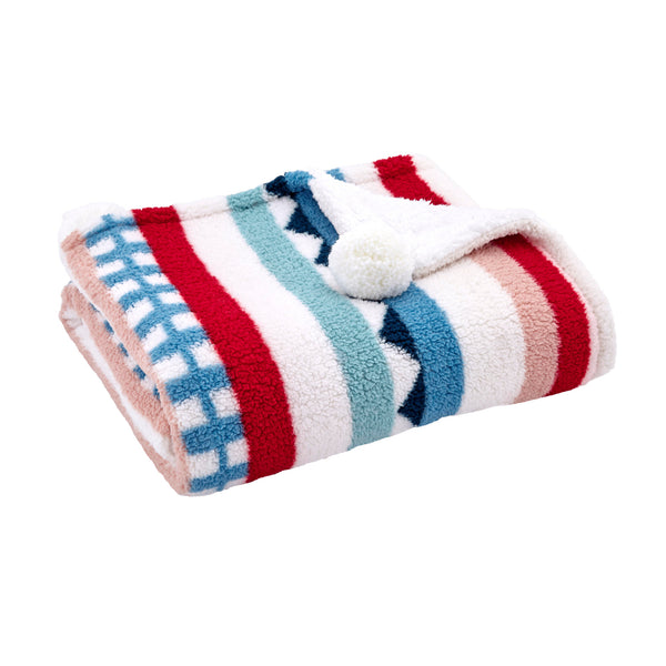 Huxley Striped Throw