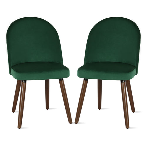 Burma Upholstered Dining Chairs (Set of 2)