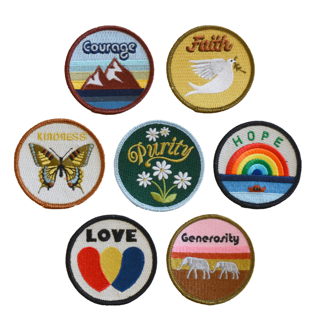 Set Of Virtues Patches The Novogratz