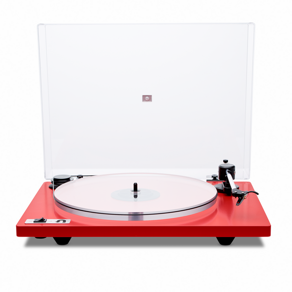 Orbit Plus Turntable with Built-In Preamp - Red