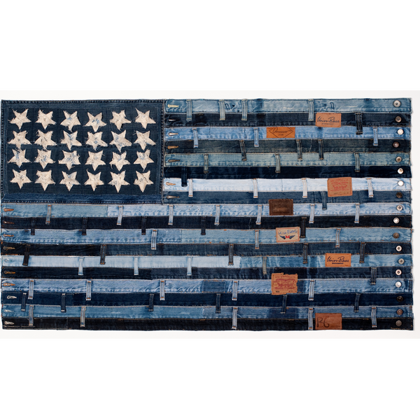 Stars and Stripes Print by Ann Carrington