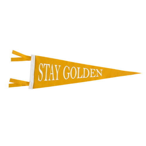 Stay Golden Pennant