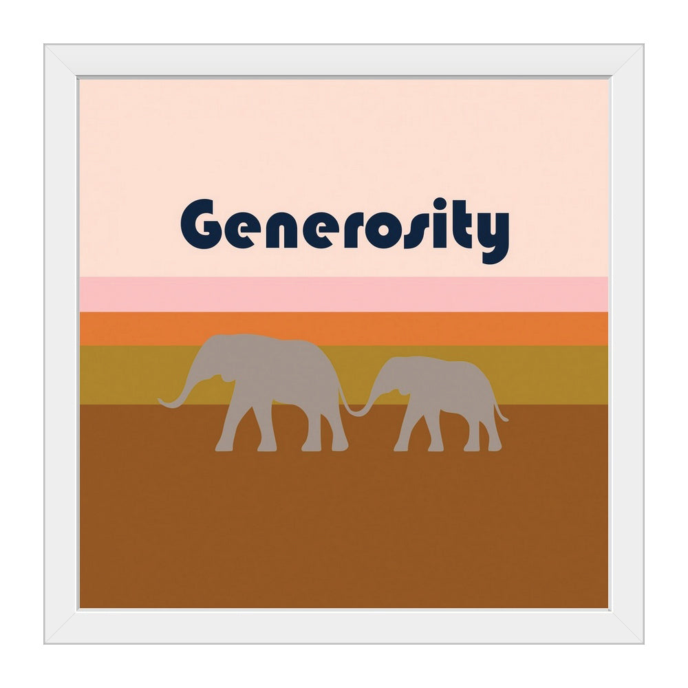 Virtues - Generosity