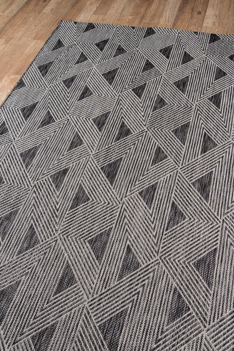 Sardinia Indoor/Outdoor Rug - Charcoal