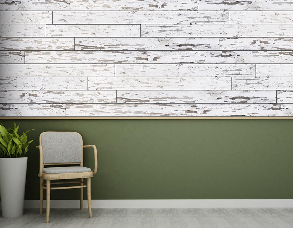 Wallplanks Dimensions - Weathered White
