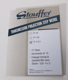 Stouffer Transmission Projection Step Wedge - 21 Steps - TP4x5 - viewcamerastore
