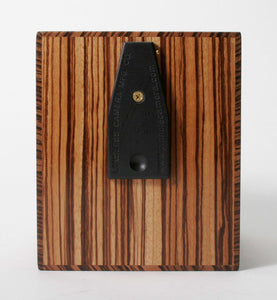 "4x5 3"" Wide Angle Pinhole Camera - Zebra Wood - viewcamerastore"