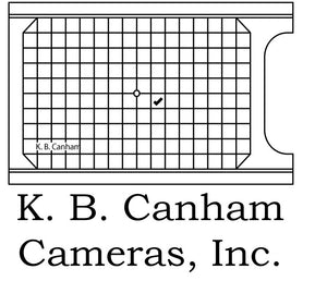 Canham Reducer Frame to Accept 8x10 Wood Back on the Wood 11x14 Cameras - viewcamerastore