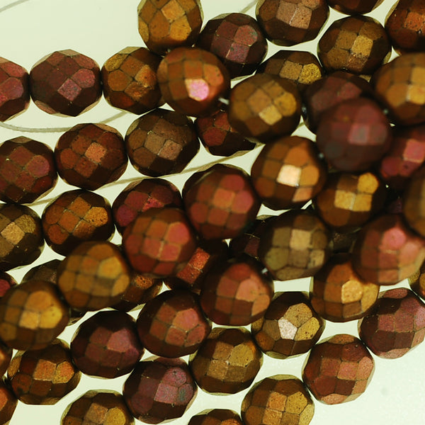 Matte Czech Glass Bead