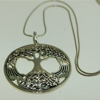 Tree of Life Penant - Sterling Silver Pendant