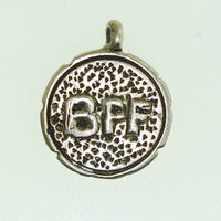 Best friend Bronze Charm - BFF Word Charm