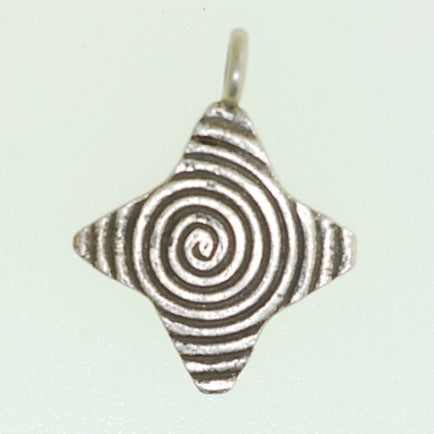 Hill Tribe silver Charm - HTP10