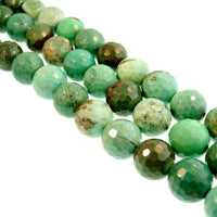 Natural Chrysoprase Beads
