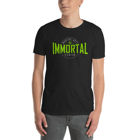 immortal martial arts center t-shirt black