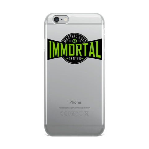 Immortal Martial Arts iPhone Case