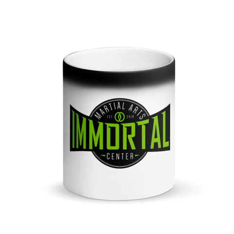 color-changing mug heat-sensitive thermochromism immortal martial arts