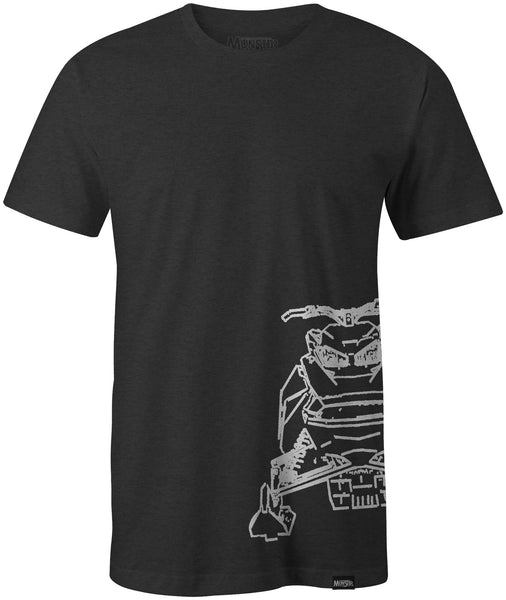 Munster Sled Tee - Charcoal Heather