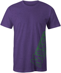 Munster Outline Tee - Purple Heather