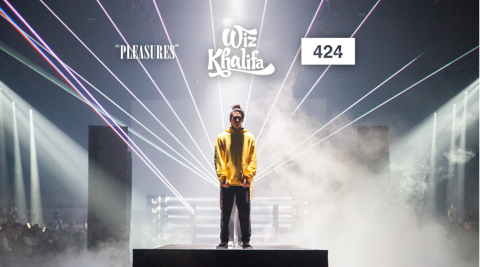 Wiz Khalifa × 424 + Pleasures