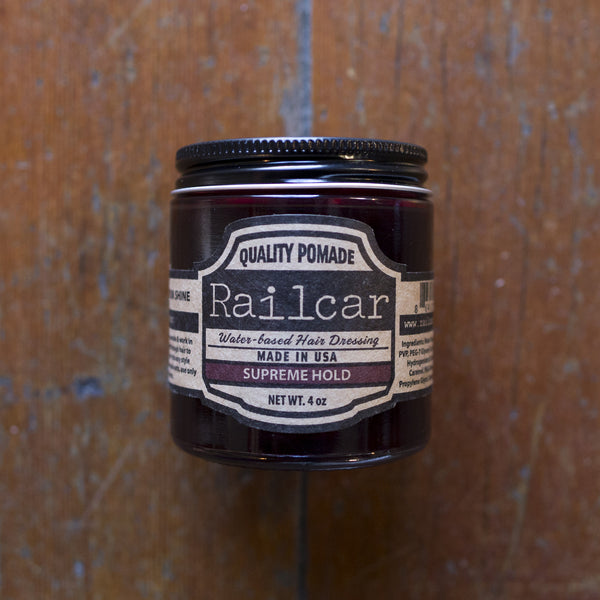 Railcar Fine Goods Pomade - Supreme Hold