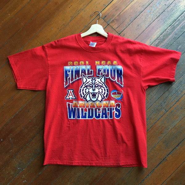 Arizona Wildcats 2001 Final Four Tee