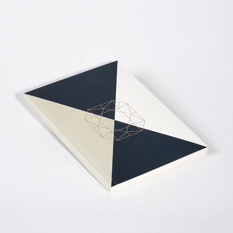 DIAMOND NOTEBOOK BEIGE