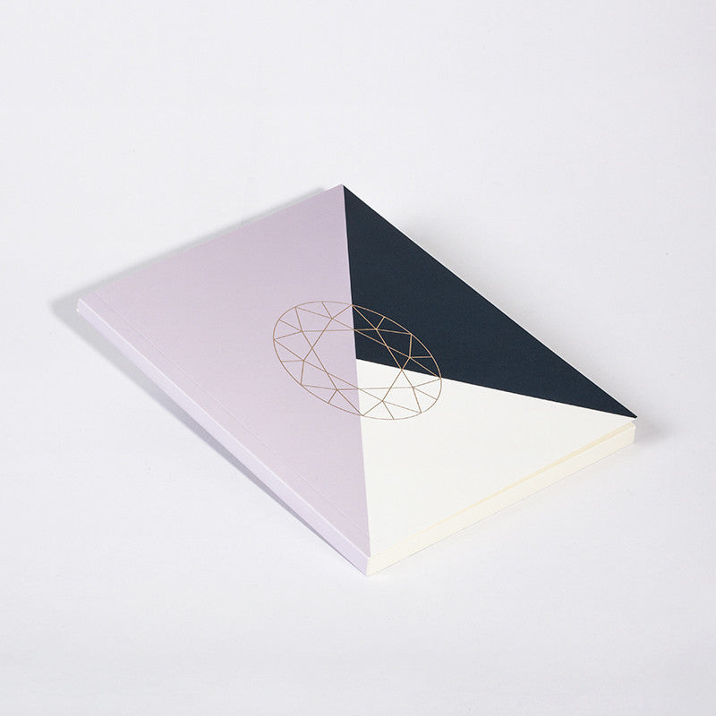 DIAMOND NOTEBOOK PURPLE