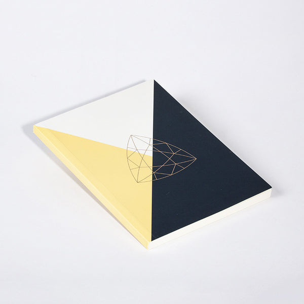 DIAMOND NOTEBOOK YELLOW - Hadron Epoch