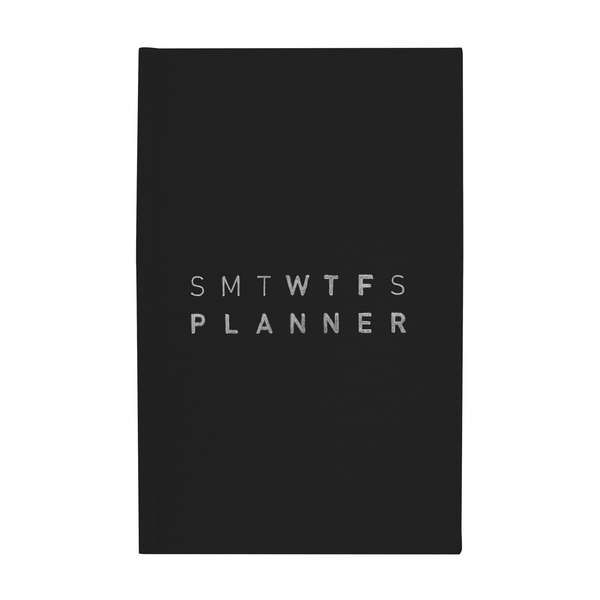 2020 (12M) SMTWTFS PLANNER MIDNIGHT BLACK - Hadron Epoch