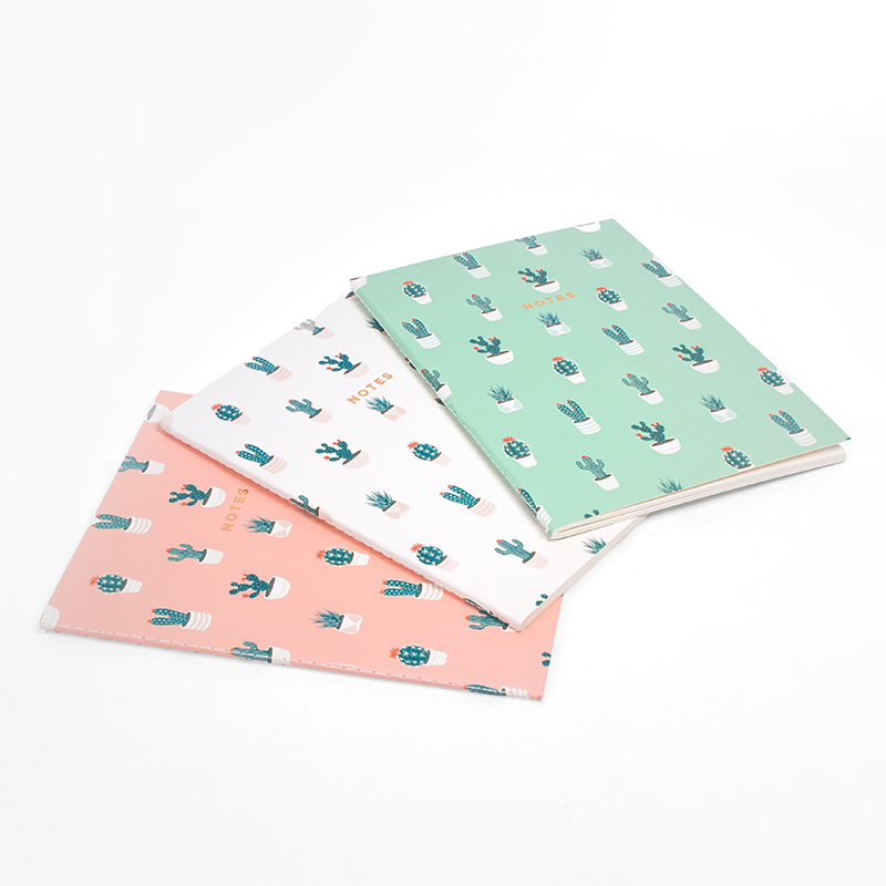 CACTUS LOVER NOTEBOOK 3/SET (S/L)