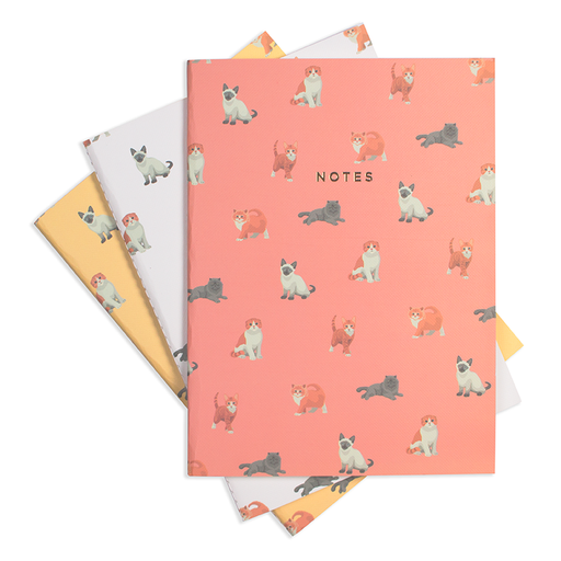 MEOW MEOW NOTEBOOK SET