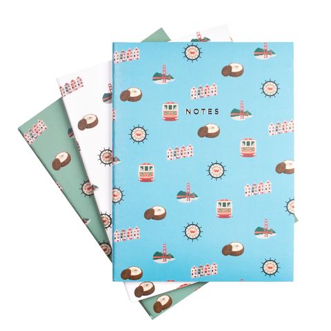 SAN FRANCISCO NOTEBOOK SET