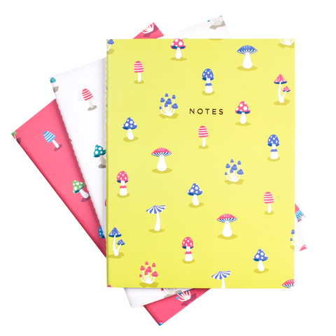 MUSHROOM NOTEBOOK SET (SOLD OUT)