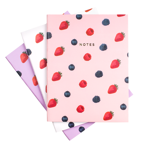 BERRY NOTEBOOK SET