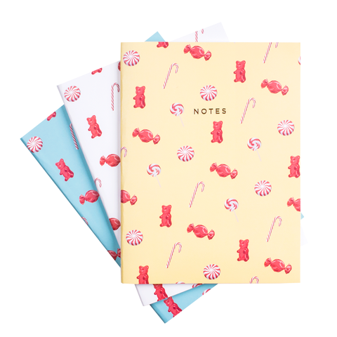 CANDY NOTEBOOK SET